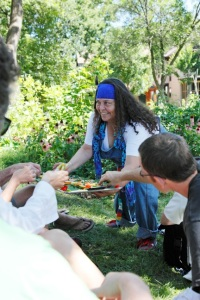 Yolanda Cotterall shares another delicious story at the Eat Street Community Garden!!